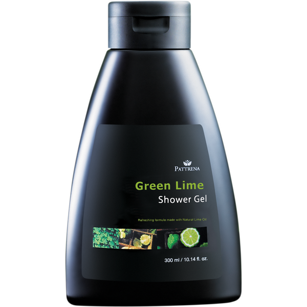 Pattrena Green Lime Shower Gel, 300ml - MyBeautyBar.co.uk