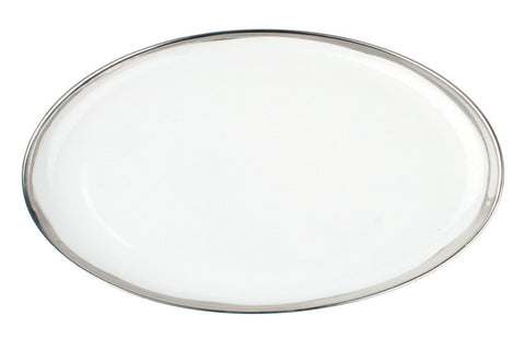 Dauville Platters with Platinum Rim - Large - Canvas Home