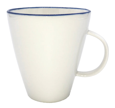 Abbesses Mug Blue Rim - Canvas Home