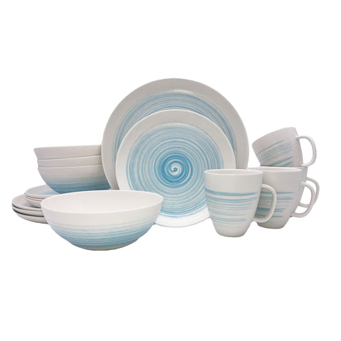 Charmouth 16-piece Place Setting in Blue