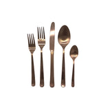 Oslo Cutlery Set in Matte Copper