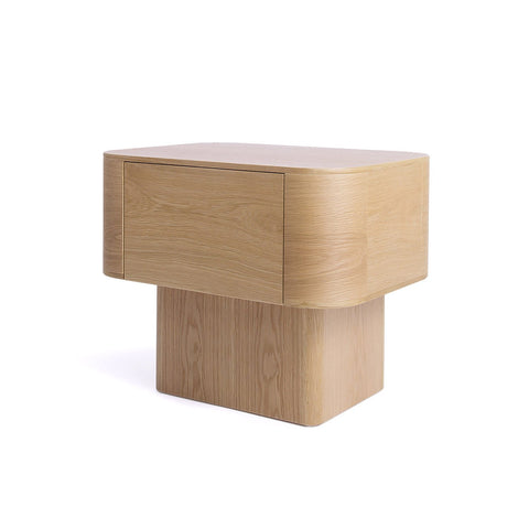 [FES8125OAK] Sean Dix Streamline Nightstand