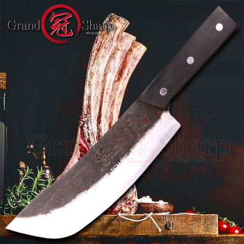 8 inch Handmade Chef  Knives Traditional Chinese Style