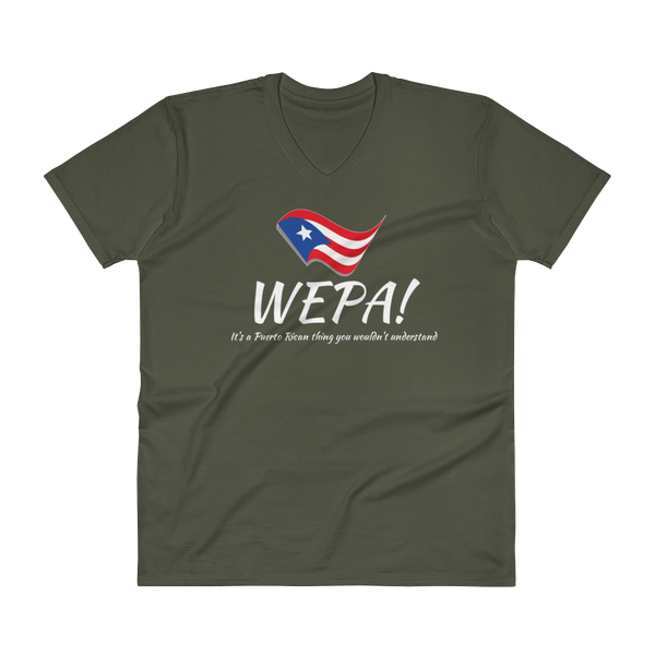 Men's WEPA! - V-Neck T-Shirt
