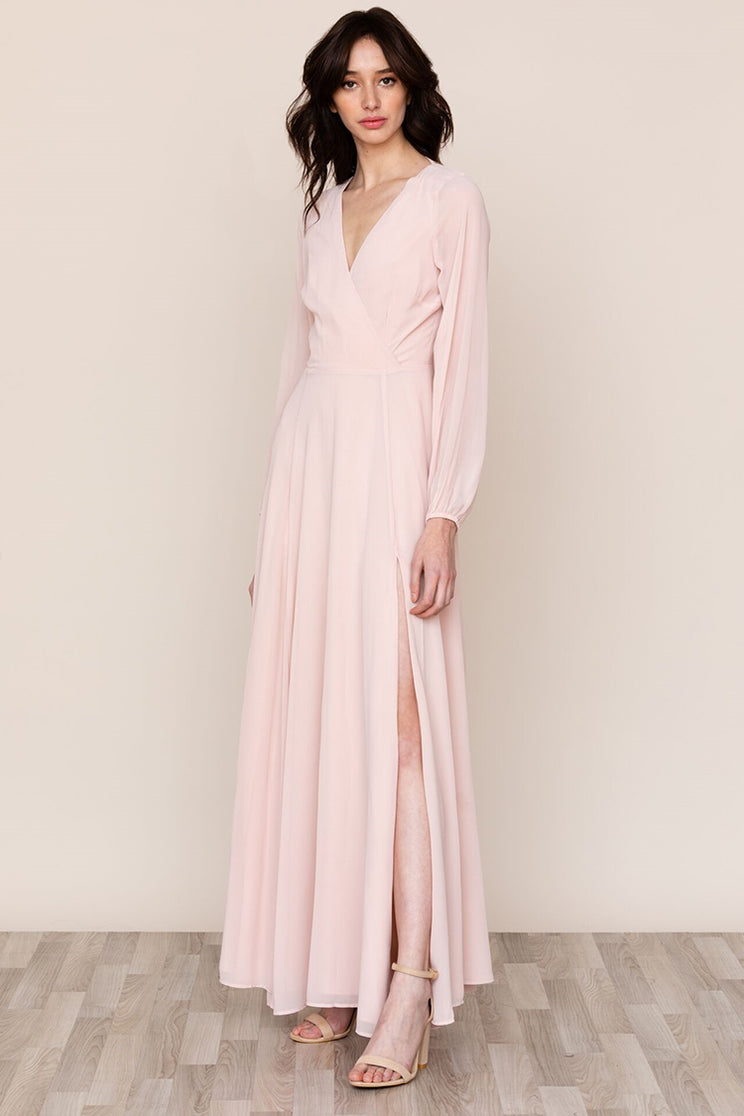 Yumi Kim's Love Affair Pink Backless Maxi is ready for all of your events.
