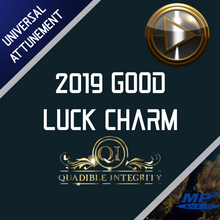 Load image into Gallery viewer, QUADIBLE INTEGRITY - 2019 GOOD LUCK CHARM - ATTUNED AUDIO FILE - DOWNLOAD MP3! - SPIRILUTION.COM
