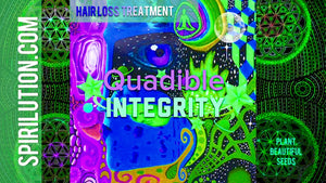 QUADIBLE INTEGRITY ★ HAIR LOSS TREATMENT FOR MEN & WOMEN★ (SUBLIMINAL BINAURAL BEATS FREQUENCY)  ATTUNED AUDIO - SPIRILUTION.COM