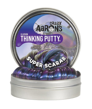Crazy Aaron Thinking Putty- Super Scarab