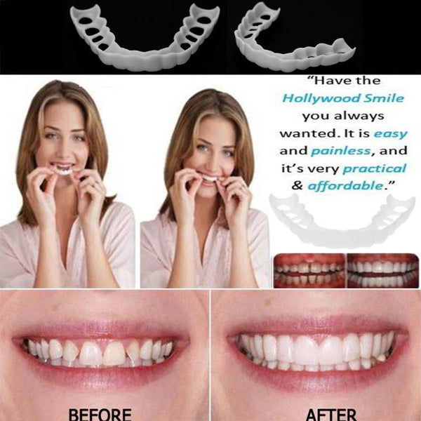 Smile Veneers™ Silicone Tooth Cover Snap On