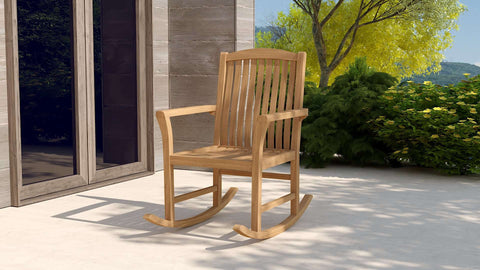 Balmoral Teak Rocking Chair