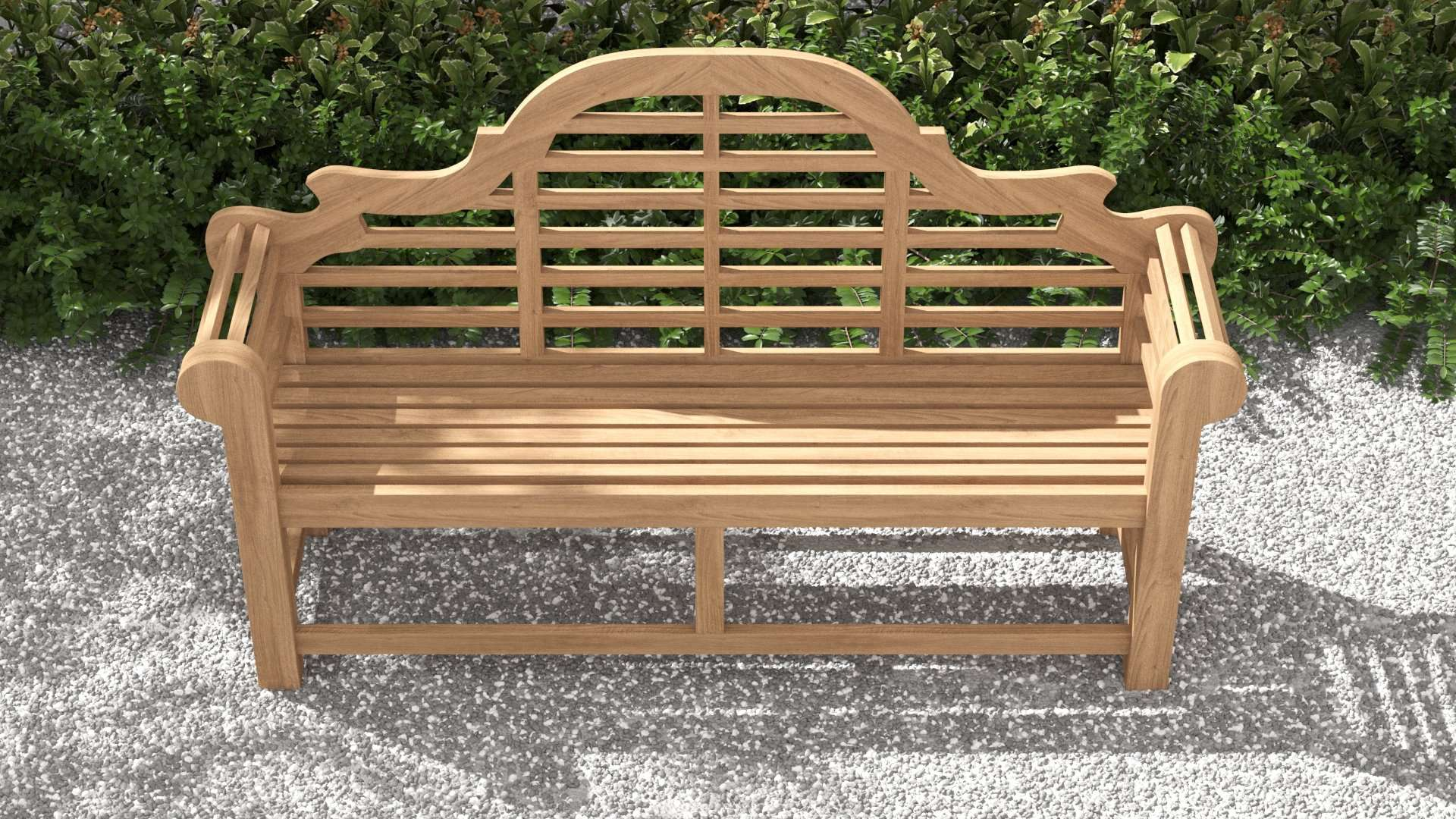 Lutyens Teak Bench (150cm) 3 Seater  - Chic Teak® | Luxury Teak Furniture