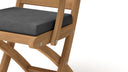 Ripon Teak Folding Carver Chair  - Chic Teak® | Luxury Teak Furniture