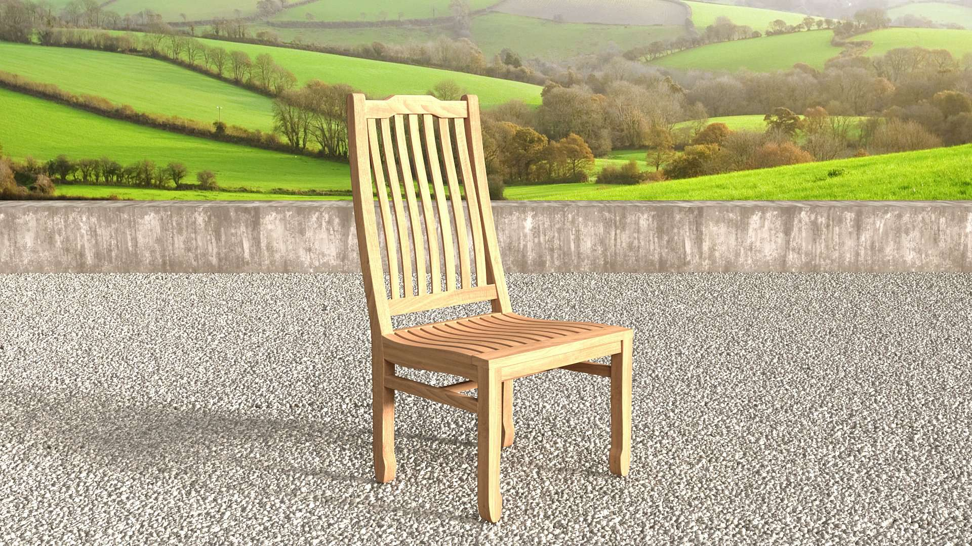 Kensington Teak Garden Chair  - Chic Teak® | Luxury Teak Furniture