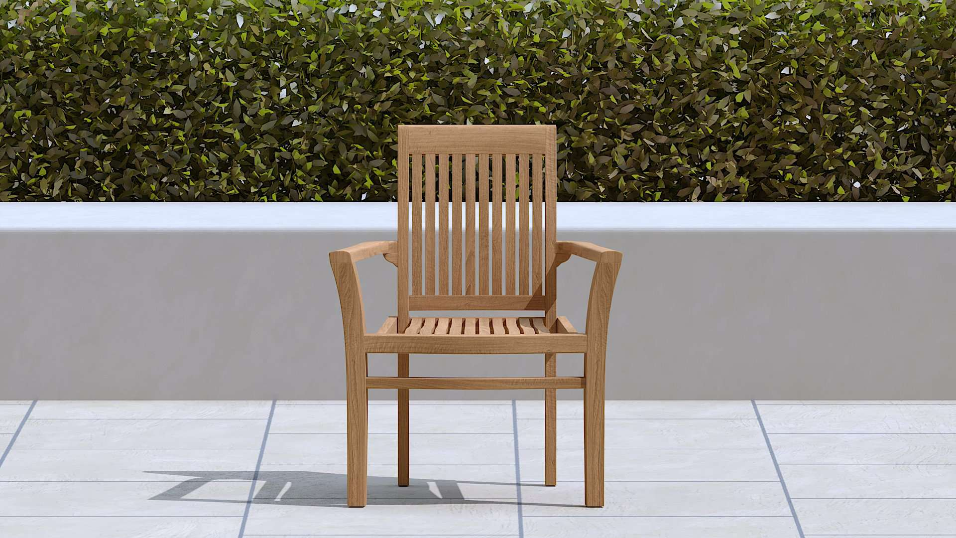 Wells Teak Garden Chair  - Chic Teak® | Luxury Teak Furniture