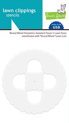 reveal wheel templates: sweetest flavor