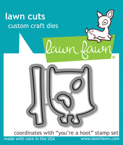 you're a hoot - lawn cuts