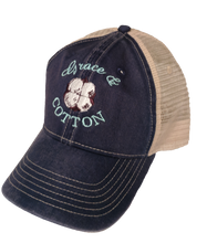 Load image into Gallery viewer, Navy/Ivory Trucker Hat - SOLD OUT - Grace and Cotton