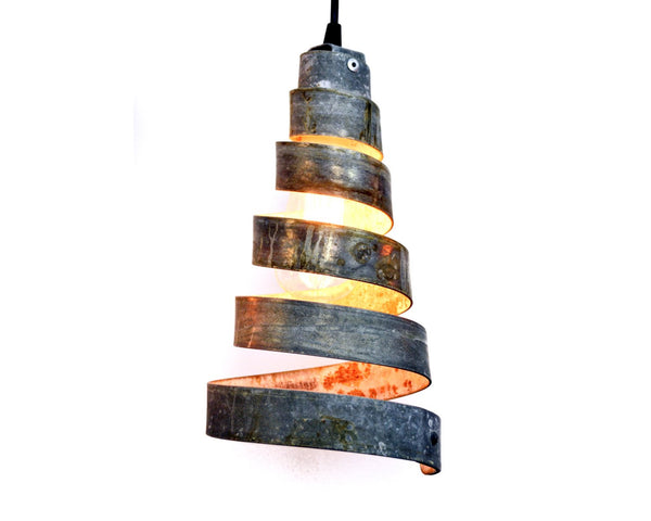CORBA Collection - Sapina - Wine Barrel Ring Pendant Light