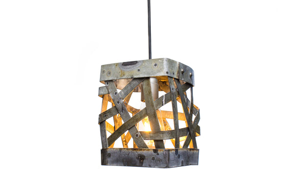 WIVA Collection  - Kotak - Wine Barrel Ring Pendant Light