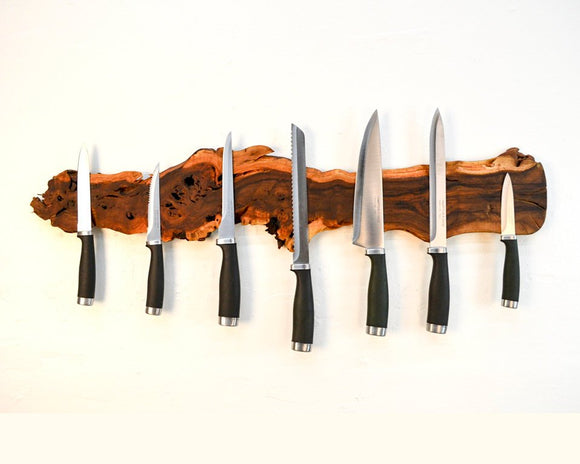 ORGANIZATION Collection - Medietas - Old Vine Grapevine Magnetic Knife Rack