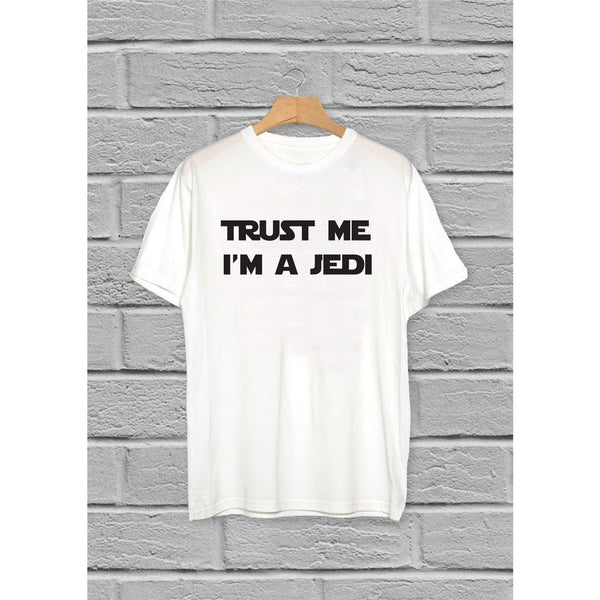 Star Wars Jedi Men's White T-Shirt - Quote My Gift
