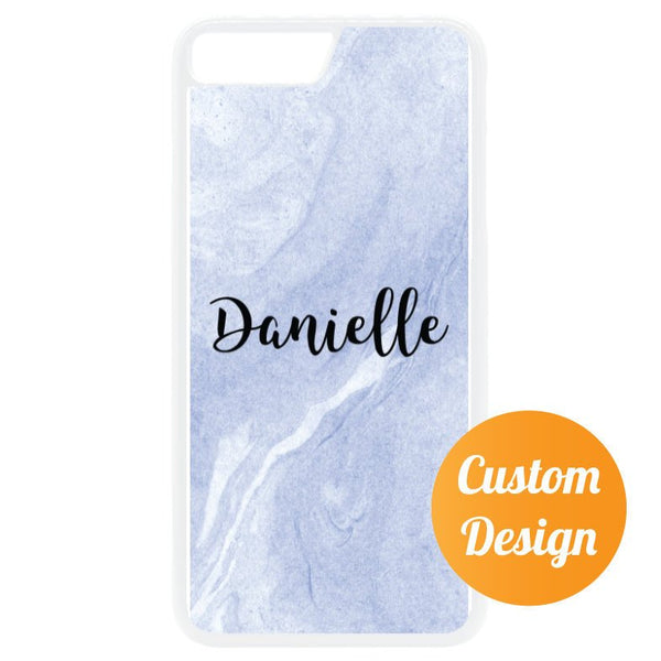 Marble Custom Name iPhone 7/8 Case - Quote My Gift