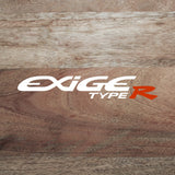 EXIGE TYPE R decal - for Lotus Exige S1