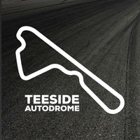 Teeside Autodrome Circuit Outline decal