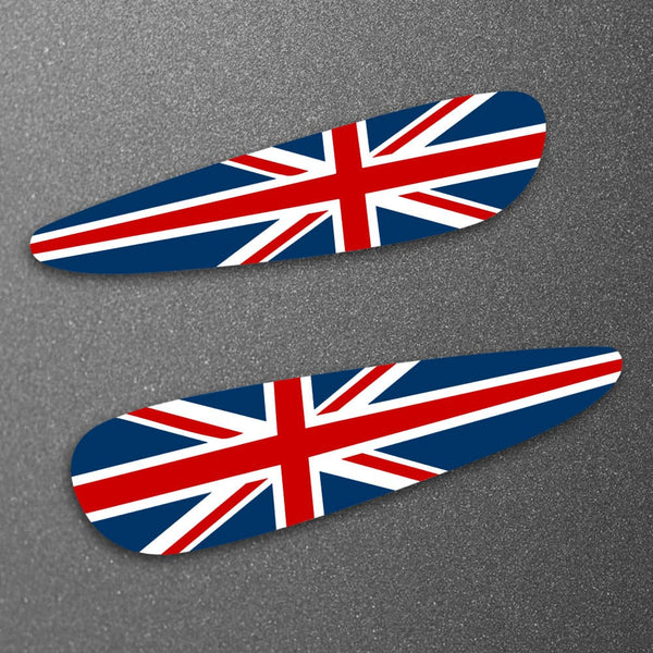 Union Jack Lotus Exige S2 Wing / Spoiler end decals