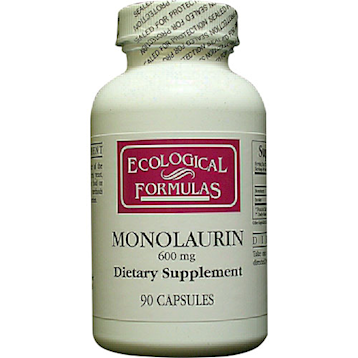 Ecological Formulas Monolaurin 600 mg 90 caps