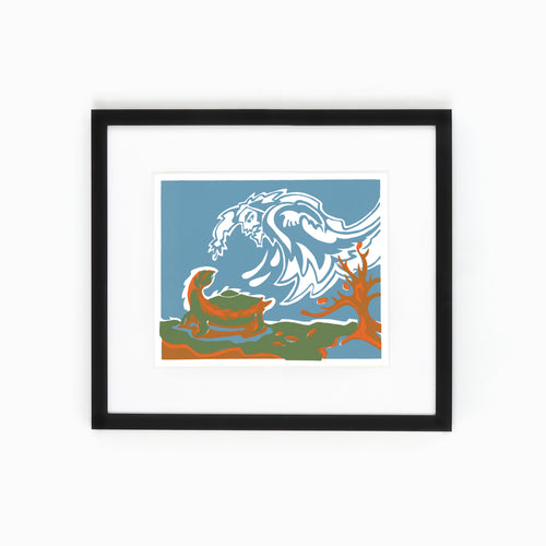 Mi'kmaq Silkscreen - The Turtle I