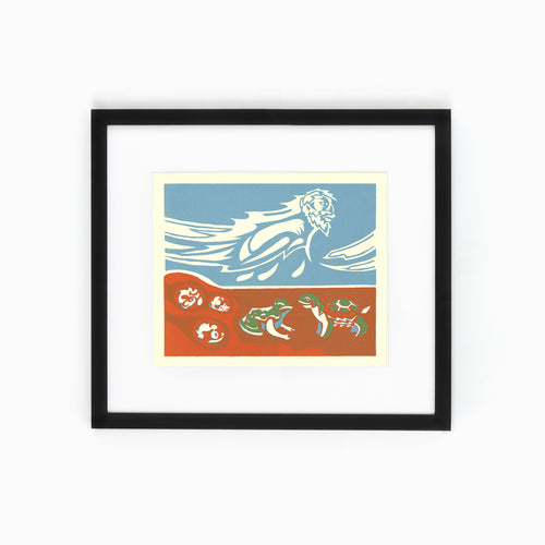 Mi'kmaq Silkscreen - The Turtle II
