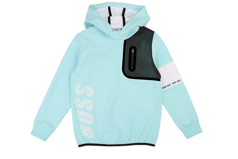 BOSS Boys Hooded Sweatshirt