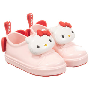 Mini Melissa Pink Hello Kitty Jelly Trainers