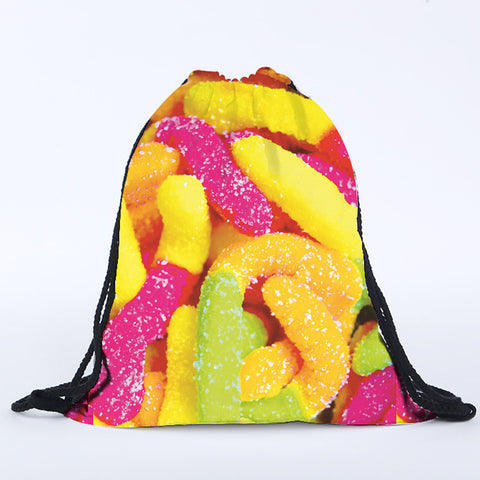 Gummy Worms Rucksack