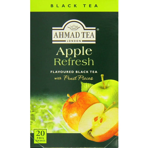 Ahmad Apple Refresh Tea Bags (Pack of 20) 40g