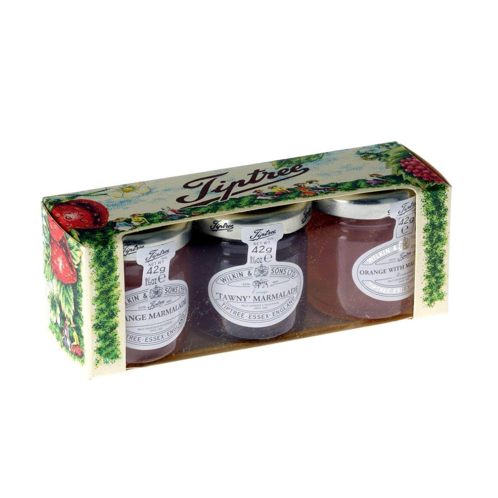 Wilkin and Sons Tiptree Marmalade Trio Gift Box (Pack of 3) 126g