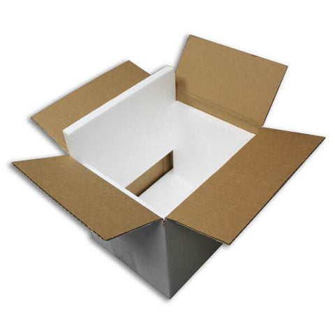 A International Brands Thermal Shipping Box. For orders Requiring Heat or Damage Protection 800g