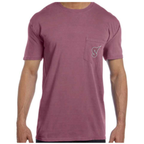 Short Sleeve Berry Pocket Tee