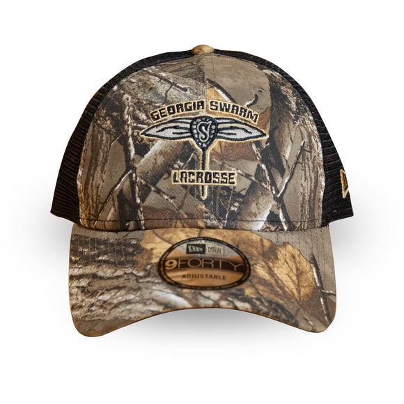 2018-19 Camo New Era 9Forty Camo Trucker Cap