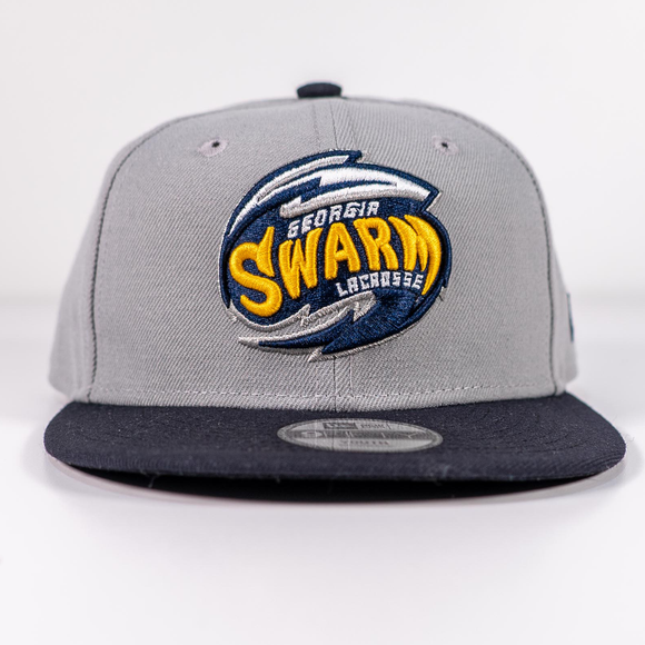 Youth Gray Swarm Snapback New Era 9Fifty