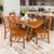 WE Furniture Millwright 7 Piece Wood Dining Set - Antique Brown