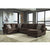 Signature Design by Ashley Jinllingsly 3-Piece LAF Sofa Sectional in Corduroy