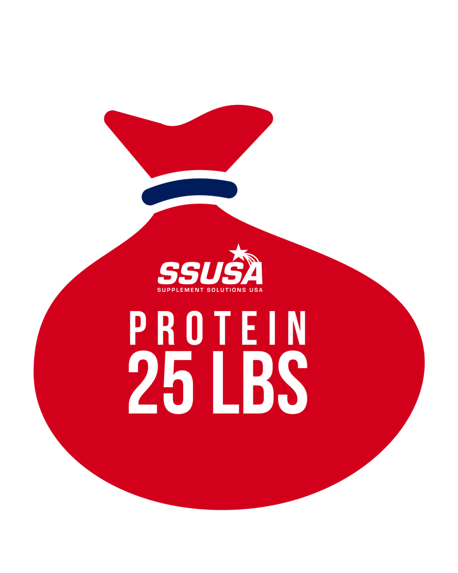 25 lb Whey Protein Bag
