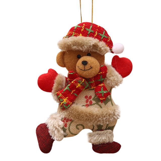 Christmas Tree Doll Decorations