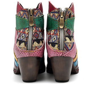 Fashion Ethnic Vintage Women's Boots