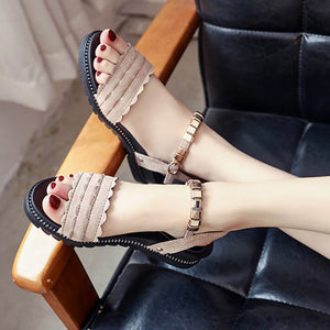 Fashion Sweet Fish Mouth Sandals