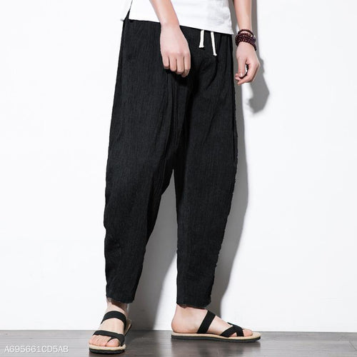 Casual Thin Loose Simple Pants