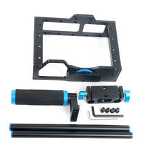 Load image into Gallery viewer, DSLR Video Cage frame - 15mm Rails, Rod Mount, Cage, Grips, Top handle - Paramount Camera & Repair - Saskatoon Canada Used Cameras Used Lenses Batteries Grips Chargers Studio