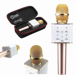 Q9 Wireless Microphone HIFI Speaker, Bluetooth Mic